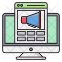 Ads Marketing Webpage Icon
