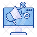 Online Marketing Promotion Love Icon