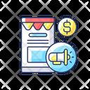 Online Marketing Communication Internet Icon
