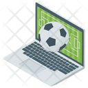 Online Match Sports Live Broadcasting Icon