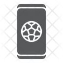 Soccer App Smartphone Icon