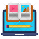 Online Material Education Icon