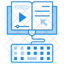 Online Materials Learning Materials Educational Materials Icon