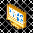 Online Math Class Icon