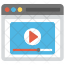Online Media Digital Icon