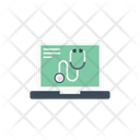Medical Online Testing Icon