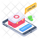 First Aid Online Medical Aid Mobile Aid Icon