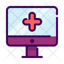 Online medical app Icon