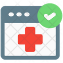 Online Check Up Icon