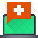 Online Medical Chat Icon