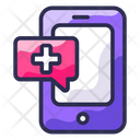 Health Message Health Care Help Message Icon