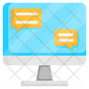 Online Medical Help Chat Medical Icon