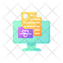Online Medical History Icon