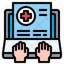 Online Medical Report Medical Report Online Icon