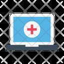 Hospital Medical Online Icon