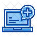 Filled Line Emergency Hospital Icon