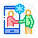 Online Medical Consultation Icon