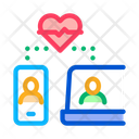 Online Communication Devices Icon