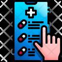 Online Medicine Online Medicine Shop Online Pharmacy Icon