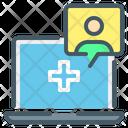 Online Medicine Online Consultation Online Icon