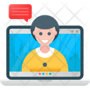 Online Meeting Icon