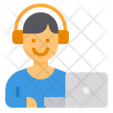 Working Headphone Online Icon