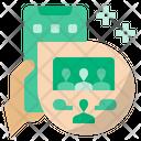 Online Meeting Icon
