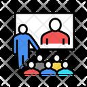 Online Conversation Group Icon
