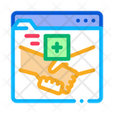 Internet Meeting Doctor Icon