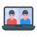 Video Call Video Communication Video Conference Icon