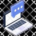 Online Message Online Communication Conversation Icon