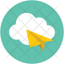 Cloud Online Mail Icon