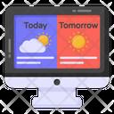 Online Meteorology Icon