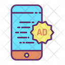 Imobile Online Ads Sale Online Mobile Advertising Mobile Advertisement Icon