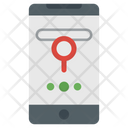 Online Mobile Navigation Icon