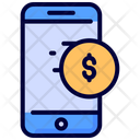 Online mobile payment Icon