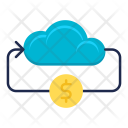 Online Money Cloud Icon