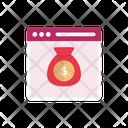 Webpage Online Marketing Icon