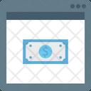Online Money Paper Money Dollar Icon