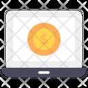 Online Money Online Finance Online Pay Icon