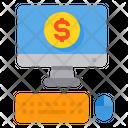 Online Money Icon