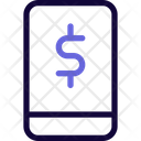 Smartphone Dollar Icon