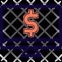 Desktop Dollar Icon