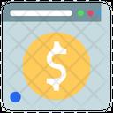 Online Money Money Website Icon