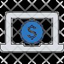 Money Laptop Business Businessman Icon