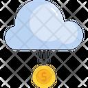 Cloud Dollar Finance Icon