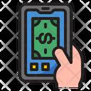 Online Money Money Finance Icon