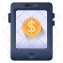Mobile Money Online Money Online Earning Icon