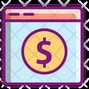 Online Money Online Payment Money Icon