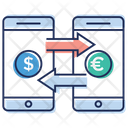 Online Money Conversion Icon